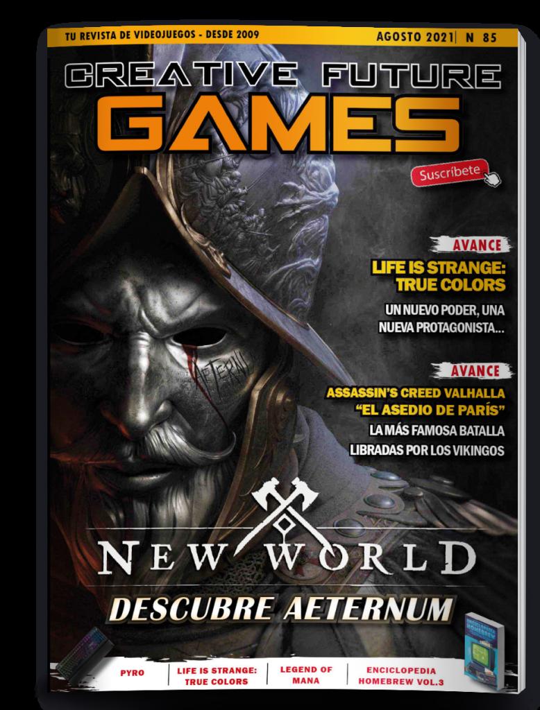 Creative Future Games nº85 - Agosto 2021